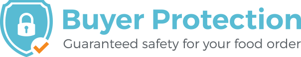 Buyer Protection - Guaranteed safety for your food order